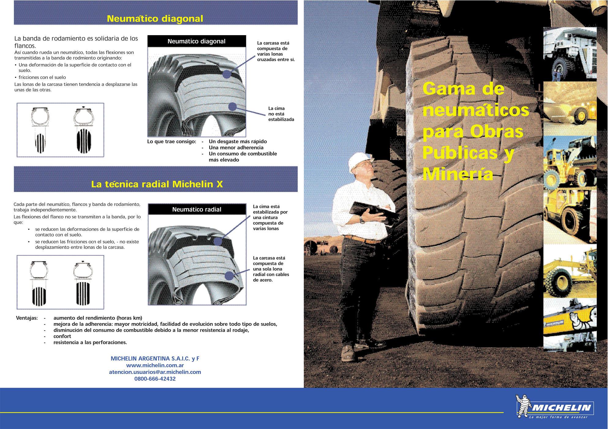 Catálogo Micheling Neumatios para minería