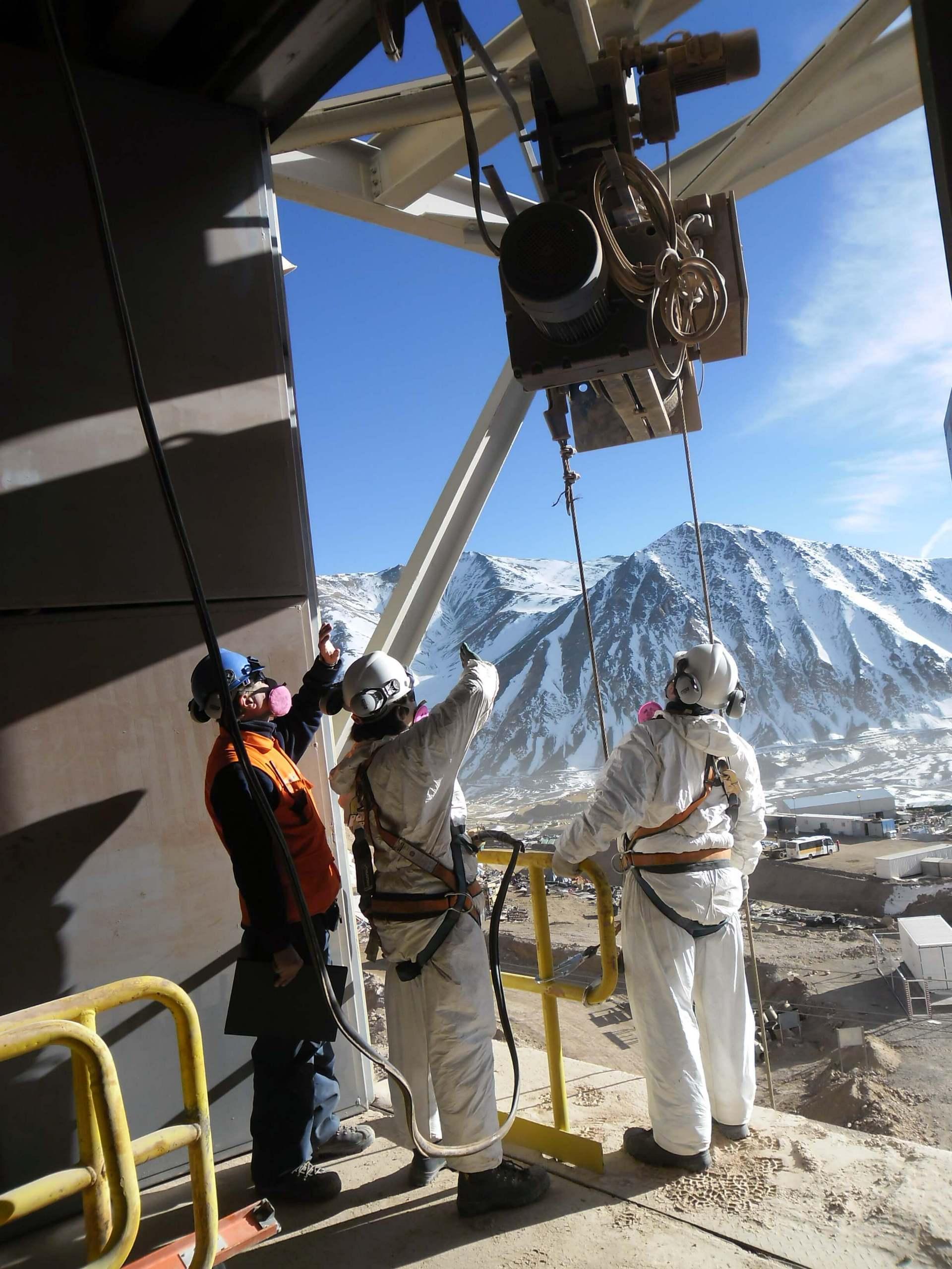 Trhon Mantenimiento Puentes Grua Para la Minería
