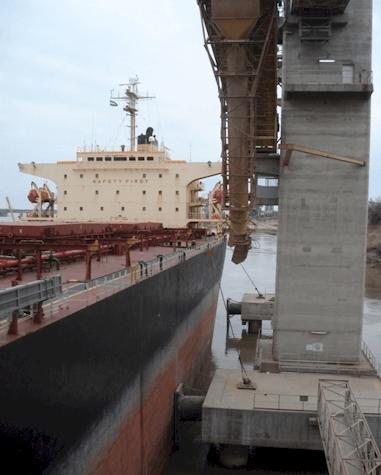 Trhon Puentes Grua en Puertos
